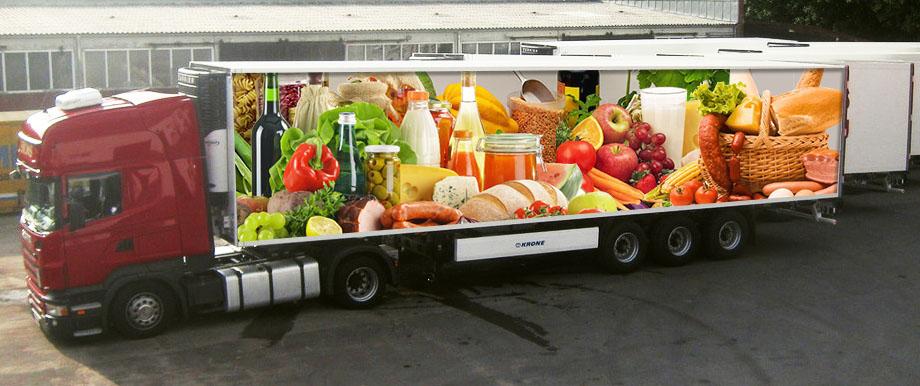 превоз на хранителни продукти