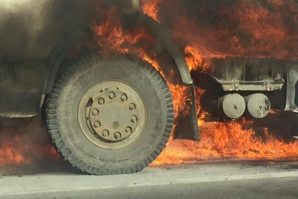 пожарна безопасност на камиона