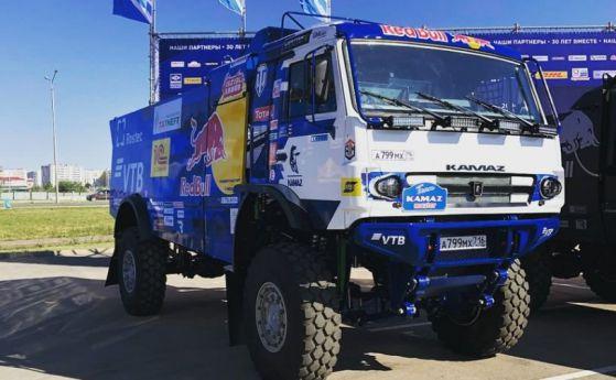 състезателен камион