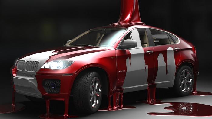 боядисване на автомобил