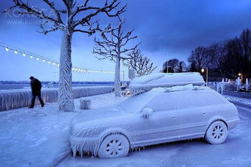 двигателят през зимата