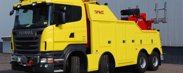 камион пътна помощ