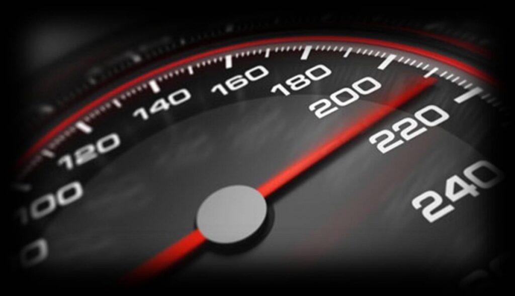 наказателна скорост