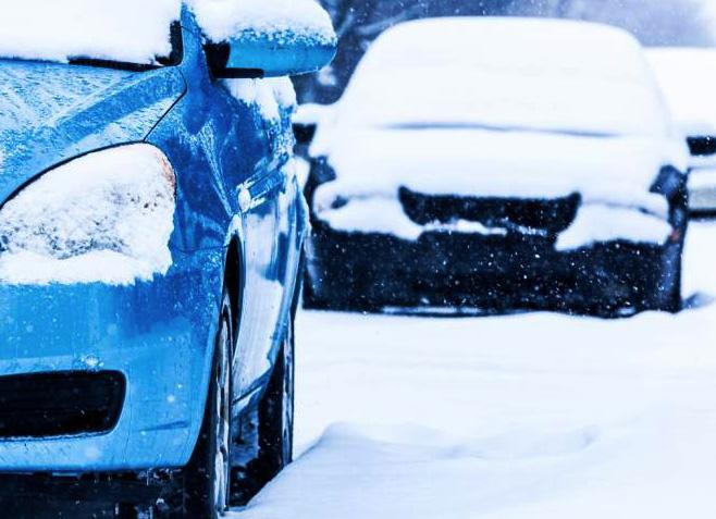 как да карате кола през зимата