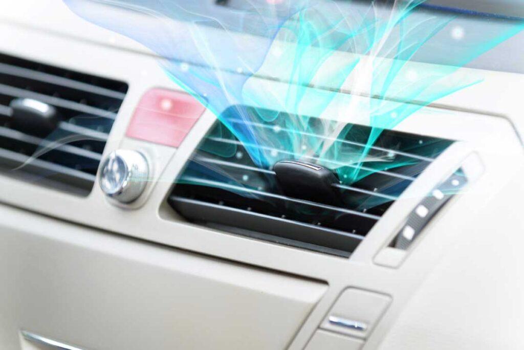 автомобилния климатик