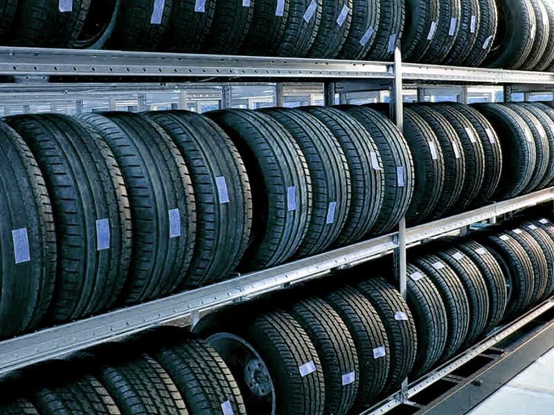 съхраняване на гуми
